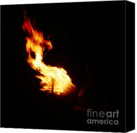 Pyrotechnics Canvas Prints - Blaze Canvas Print by Agusti Pardo Rossello