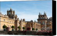 Grand Home Canvas Prints - Blenheim palace Canvas Print by Andrew  Michael