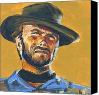 Cowboy Canvas Prints - Blondie      The Good The Bad and The Ugly Canvas Print by Buffalo Bonker