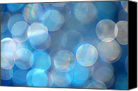 Silver Canvas Prints - Blue Canvas Print by Darren Fisher