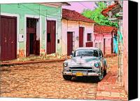Havana Daydreams Canvas Prints - Blue Eye Canvas Print by Dominic Piperata