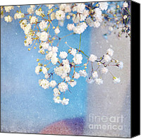 Pretty Flowers Canvas Prints - Blue Morning Canvas Print by Lyn Randle