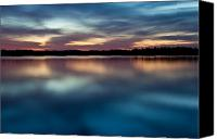 Arkansas Canvas Prints - Blue Skies Of Reflection Canvas Print by Jonas Wingfield