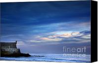 Fisher Canvas Prints - Blue Storm Canvas Print by Carlos Caetano