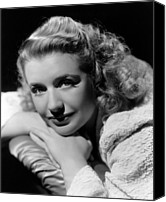 Publicity Shot Canvas Prints - Blues In The Night, Priscilla Lane, 1941 Canvas Print by Everett