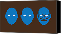 Television Canvas Prints - Bluth Man Group Canvas Print by Michael Myers