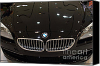 Sportscars Photo Canvas Prints - Bmw . 7d9566 Canvas Print by Wingsdomain Art and Photography