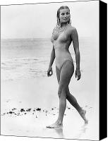 Derek Canvas Prints - Bo Derek (1956-) Canvas Print by Granger