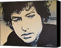 Eric Dee Canvas Prints - Bob Dylan - Its Alright Ma Canvas Print by Eric Dee