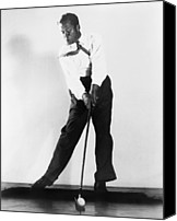 Bobby Canvas Prints - Bobby Jones, 1902-1971. A High-speed Canvas Print by Everett