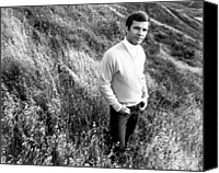 Sweating Canvas Prints - Bobby Vee, Ca. 1968 Canvas Print by Everett