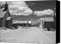 Ghost Canvas Prints - Bodie A Ghost Town Infrared  Canvas Print by Christine Till