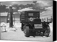 Classic Automobiles Canvas Prints - Bodie California - A Trip Back In Time Canvas Print by Christine Till