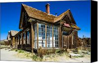 Whalen Photography Canvas Prints - Bodie Ghost Town One Canvas Print by Josh Whalen