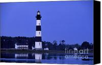 Aid Canvas Prints - Bodie Island Lighthouse at Dusk - FS000607 Canvas Print by Daniel Dempster