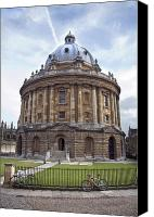 Cobbles Canvas Prints - Bodlien Library Radcliffe Camera Canvas Print by Jane Rix