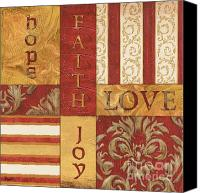 Faith Canvas Prints - Bohemian Red Spice 1 Canvas Print by Debbie DeWitt