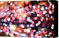 Decorate Canvas Prints - Bokeh Canvas Print by Setsiri Silapasuwanchai