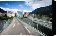 Glimpse Canvas Prints - Bolzano Canvas Print by Andre Goncalves