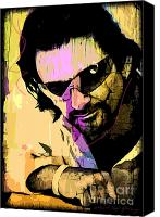 Bono Canvas Prints - Bono Canvas Print by David Lloyd Glover