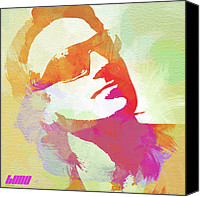 Bono Canvas Prints - Bono Canvas Print by Irina  March