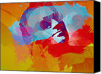 Bono Canvas Prints - Bono U2 Canvas Print by Irina  March