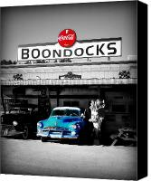 Drive Canvas Prints - Boondocks Canvas Print by Perry Webster