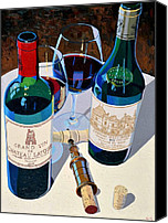 Bordeaux Canvas Prints - Bordeaux Selections Canvas Print by Christopher Mize