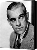 Publicity Shot Canvas Prints - Boris Karloff, Ca 1939 Canvas Print by Everett