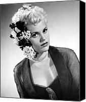 1950 Movies Photo Canvas Prints - Born Yesterday, Judy Holliday, 1950 Canvas Print by Everett