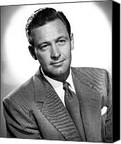 1950 Movies Photo Canvas Prints - Born Yesterday, William Holden, 1950 Canvas Print by Everett