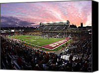 Eagles Canvas Prints - Boston College Alumni Stadium Canvas Print by John Quackenbos