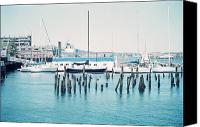 Kevin Callahan Canvas Prints - Boston Harbor Canvas Print by Kevin Callahan