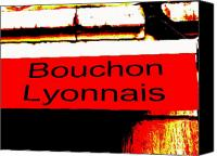 Lyon Canvas Prints - Bouchon Lyonnais... What Else  Canvas Print by Funkpix Photo  Hunter