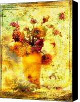 Works Canvas Prints - Bouquet Canvas Print by Bernard Jaubert