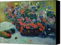 Mango Canvas Prints - Bouquet of Flowers Canvas Print by Paul Gauguin