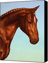 Mare Canvas Prints - Braided Canvas Print by James W Johnson
