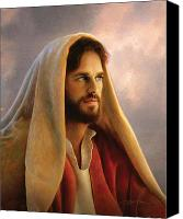Bread Canvas Prints - Bread of Life Canvas Print by Greg Olsen