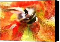 Athletic Digital Art Canvas Prints - Breakthrough Canvas Print by Terril Heilman