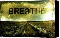 Breathe Canvas Prints - Breathe Canvas Print by Andrea Barbieri