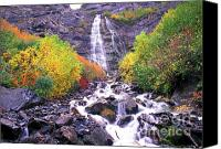 Dave Canvas Prints - Bridal Veil Falls Canvas Print by Dave Hampton Photography