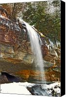 Susan Leggett Canvas Prints - Bridal Veil Falls Canvas Print by Susan Leggett