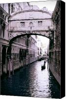Mystical Canvas Prints - Bridge of Sighs Canvas Print by Traveler Scout