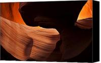 Desert Canvas Prints - Bridge of the Light Canvas Print by Mike  Dawson