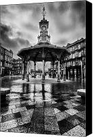 Benches Canvas Prints - Bridgeton Cross Bandstand Glasgow Canvas Print by John Farnan