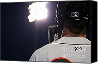 Washington Nationals Canvas Prints - Bright Lights Big Bat Canvas Print by Jason Yoder