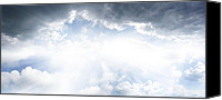 Heavens Canvas Prints - Bright sky Canvas Print by Les Cunliffe