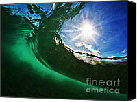 Surf Art Canvas Prints - Bright Spot Canvas Print by Paul Topp