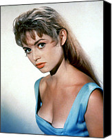 1950s Portraits Canvas Prints - Brigitte Bardot, 1950s Canvas Print by Everett