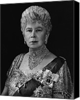 British Royalty Canvas Prints - British Royalty. British Queen Mary Canvas Print by Everett